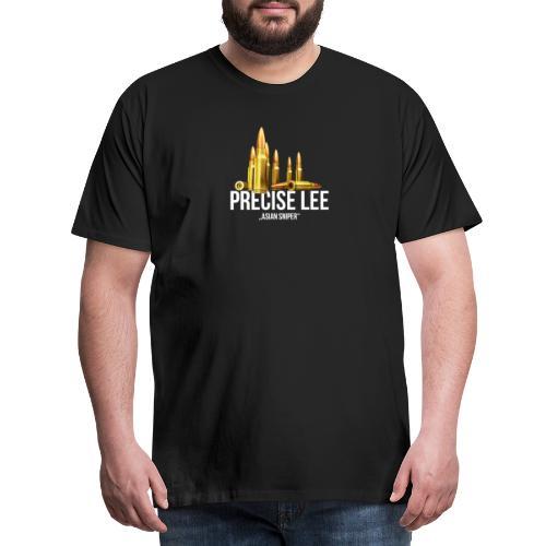 Precise Lee| Asian Sniper Marksman - Männer Premium T-Shirt