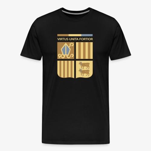 Escut andorra 3 - Camiseta premium hombre