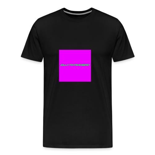 'JOLLY TOYNE IS BEAST' PROMOTION DESIGN. - Men's Premium T-Shirt