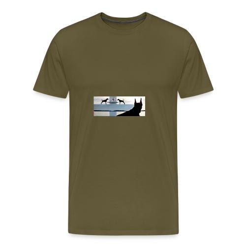 FBtausta - Miesten premium t-paita