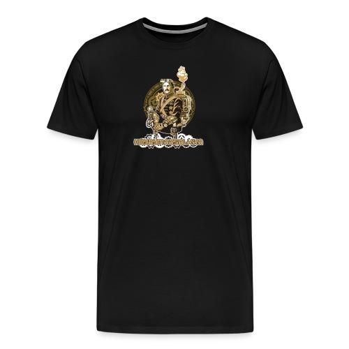Höyrymarsalkan upea naisten T-paita - Miesten premium t-paita