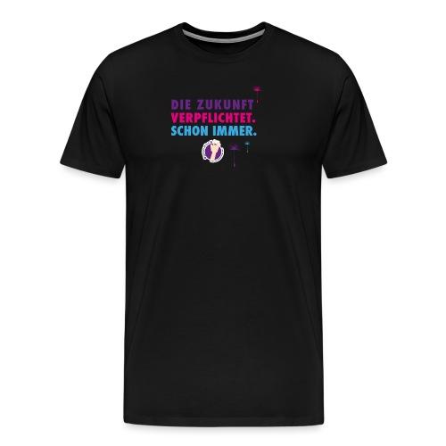 Die Zukunft verpflichtet schon immer - Männer Premium T-Shirt