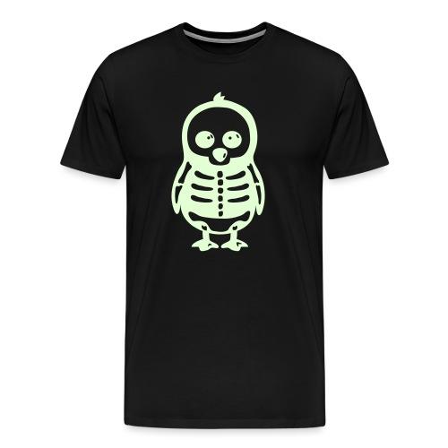 Pingouin Squelette - T-shirt Premium Homme