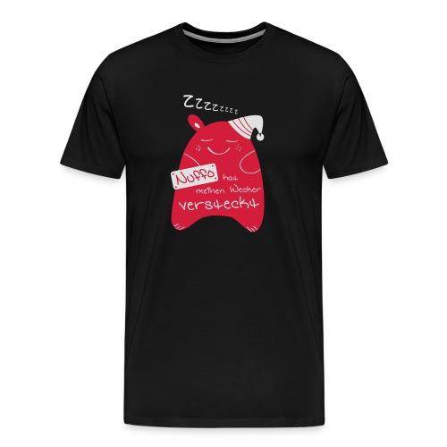 Nuffo Wecker - Männer Premium T-Shirt