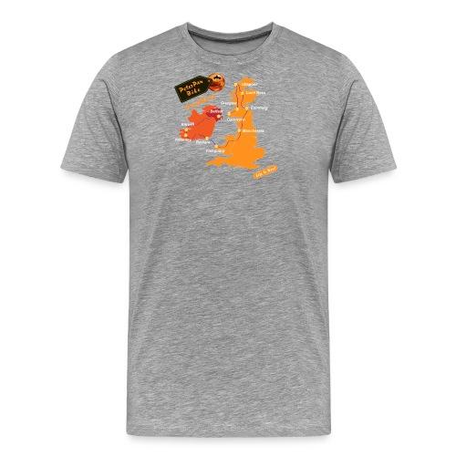LochNess-NewOrange - Miesten premium t-paita