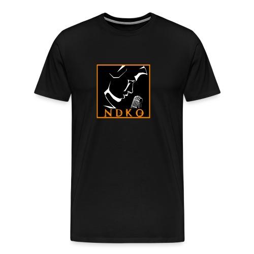 NDKO LOGO BLACK - Men's Premium T-Shirt
