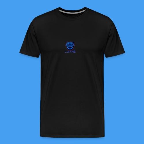 Lotties Blue Tiger Drop! - Men's Premium T-Shirt