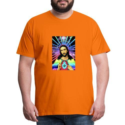 Neon Jesus - Men's Premium T-Shirt