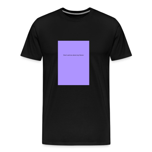 NO FUTURE - T-shirt Premium Homme