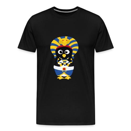 Pingouin Pharaon Egypte - T-shirt Premium Homme