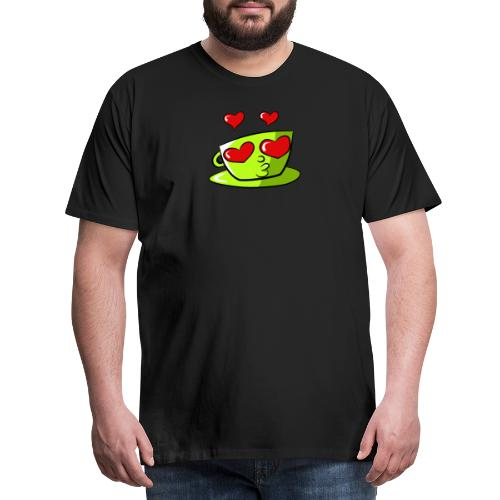 Tasse Loveoccino Edition 2020 - Männer Premium T-Shirt
