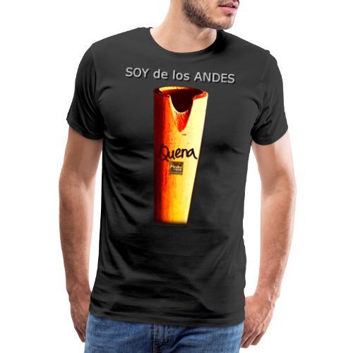 De los ANDES - Quena II - Camiseta premium hombre