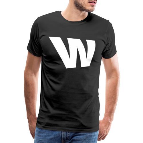 W white - Men's Premium T-Shirt