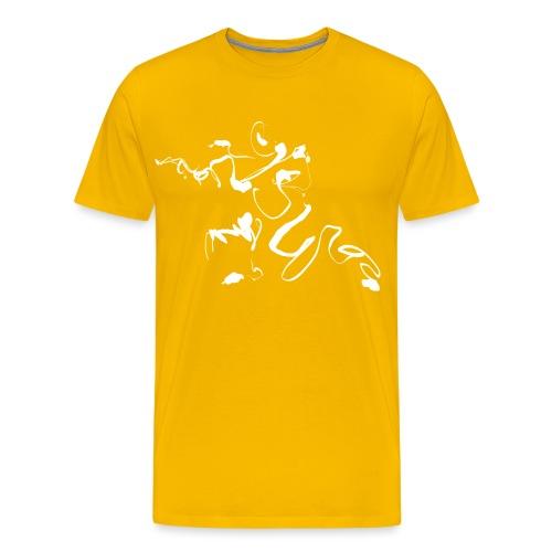 Kungfu - Deepstance Kung-fu figure - Men's Premium T-Shirt