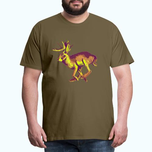 Fantasy Wolpertinger - Men's Premium T-Shirt