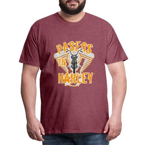 Paseos en H a r l e y - Camiseta premium hombre