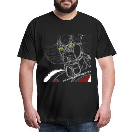 Qui est-il ? D'où vient-il ? - T-shirt Premium Homme