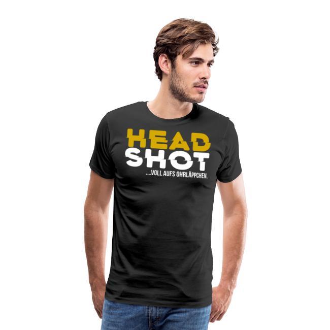 Headshot... voll aufs Ohrläppchen
