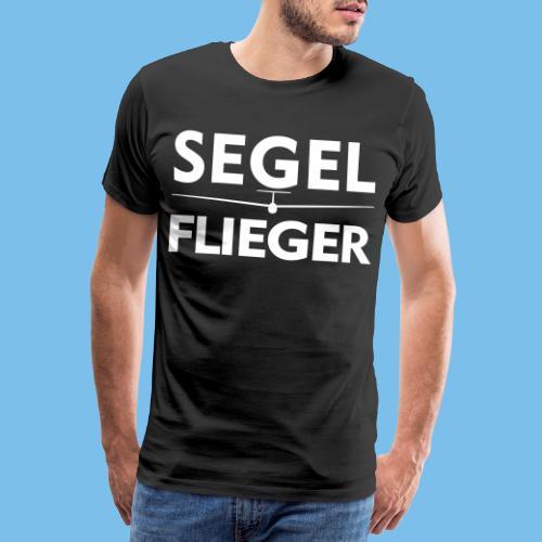 Segelflieger Segelflugzeug Spruch Geschenk Pilot - Männer Premium T-Shirt