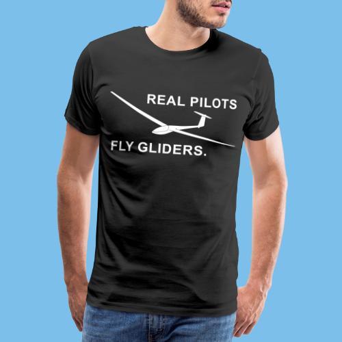 Segelflieger Segelflugzeug gleiten Geschenkidee - Männer Premium T-Shirt