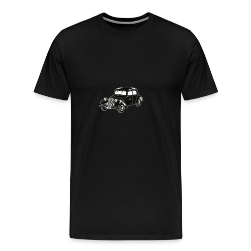 French Military Staff Car - Men's Premium T-Shirt