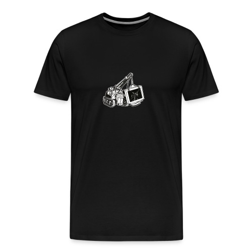 M31- This Computer's Bust - Men's Premium T-Shirt