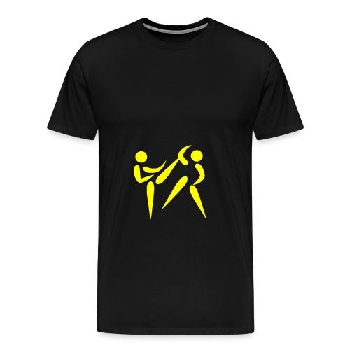 sport 310088 1280 jaune png - T-shirt Premium Homme