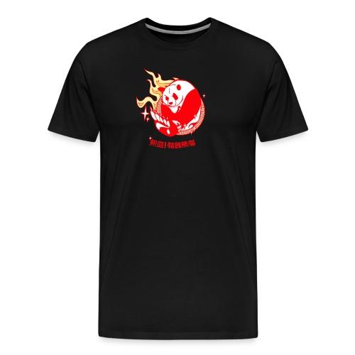 Oso Panda - Camiseta premium hombre