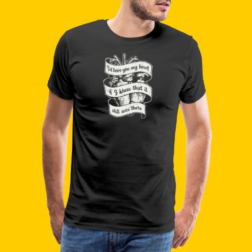 Lost heart (A tribute to The Dear Hunter) - Premium-T-shirt herr