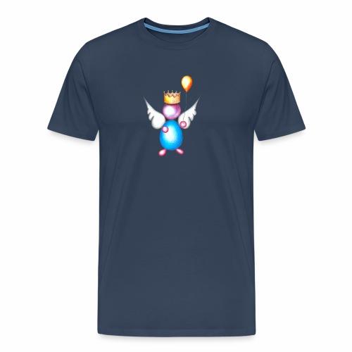 Mettalic Angel geluk - Mannen Premium T-shirt