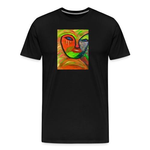 tränendes Auge - Männer Premium T-Shirt