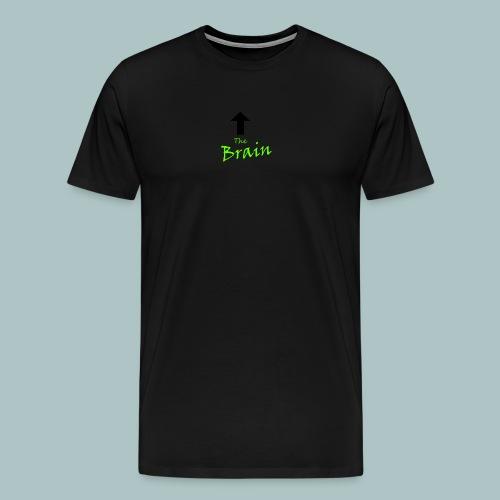 The Brain - Männer Premium T-Shirt