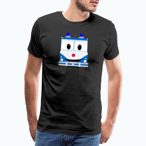 Bobo Police - Appelsin - Premium-T-shirt herr