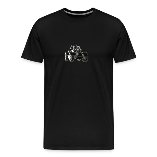 Staghound US Armored Car - Men's Premium T-Shirt