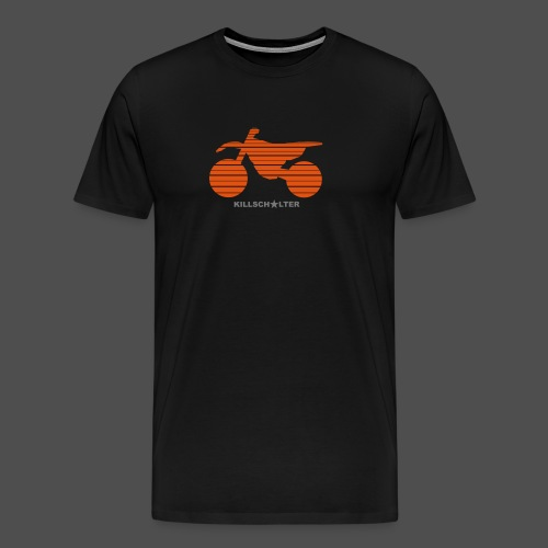 MX Bike - Koszulka męska Premium
