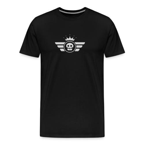 Grey logo - Men's Premium T-Shirt