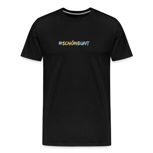 schön bunt - Men's Premium T-Shirt