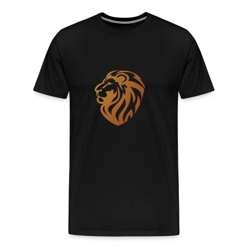 Bronze lion - T-shirt Premium Homme