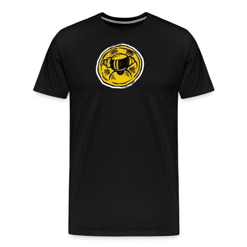 Machine Boy Ruff Yellow - Men's Premium T-Shirt
