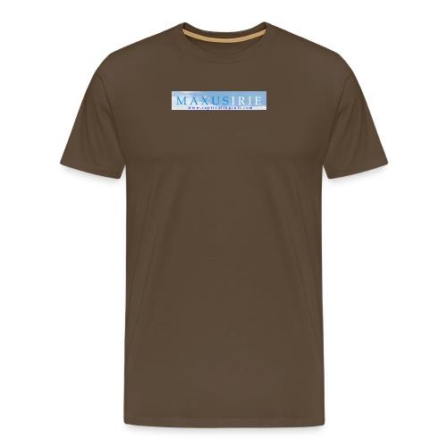Larger MI logo png - Men's Premium T-Shirt