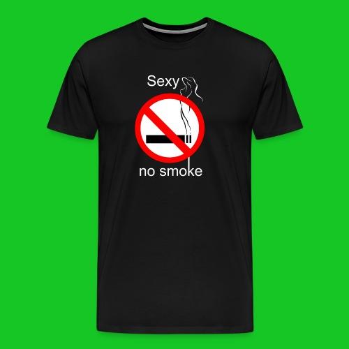 Sexy no smoke - Mannen Premium T-shirt