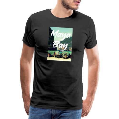 Maya Bay in Thailand - Männer Premium T-Shirt