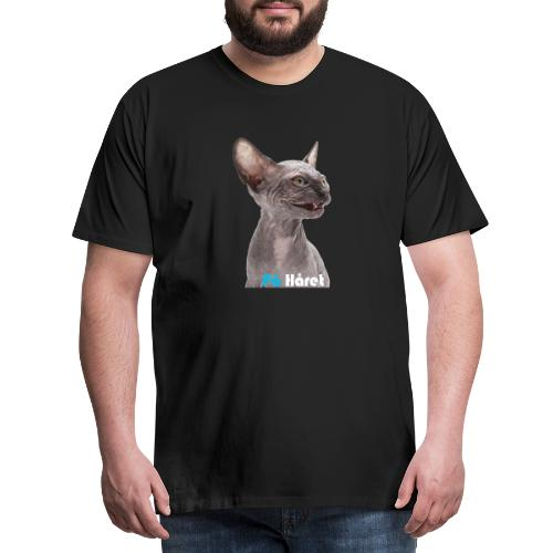 Katten - Premium-T-shirt herr