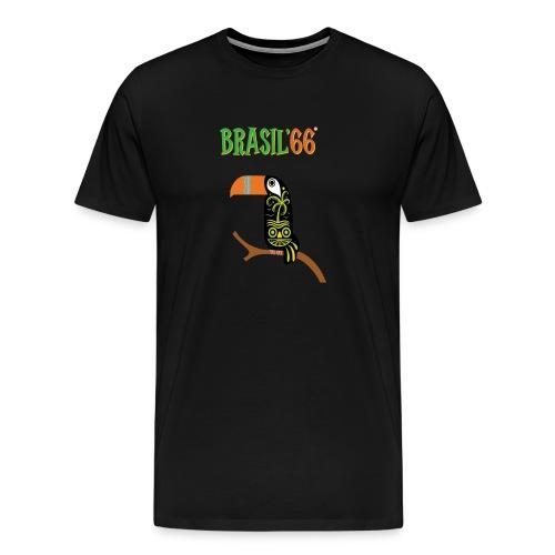 Brasil66 - Premium T-skjorte for menn