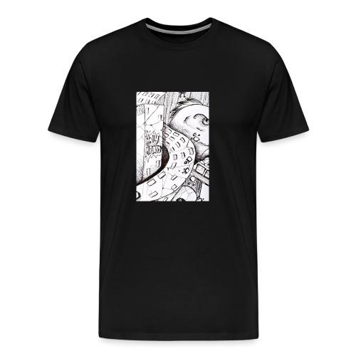 detail bird - T-shirt Premium Homme