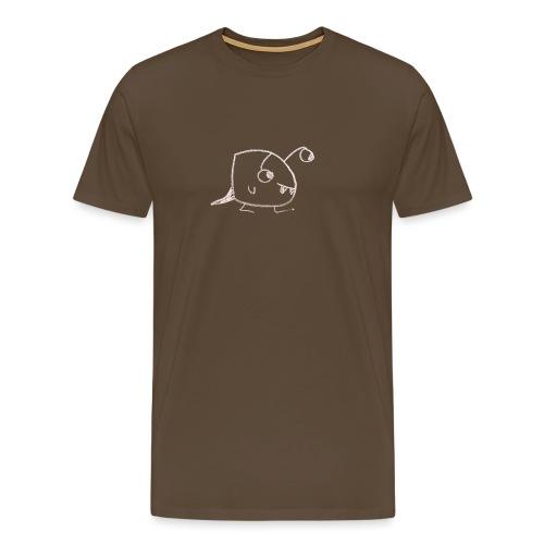 friendly-lookingnster - Mannen Premium T-shirt