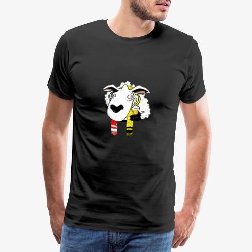 Schaap Lier Gere Bij - Mannen Premium T-shirt