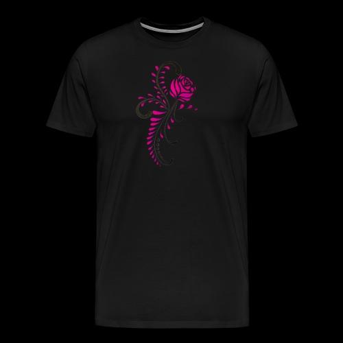 flower art - Männer Premium T-Shirt