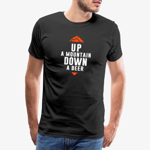 UP Mountain Down Beer - T-shirt Premium Homme