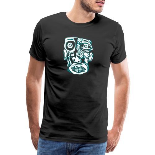 kopf1 - Männer Premium T-Shirt